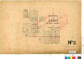 Ajana Sheet 2 [Tally No. 503662].