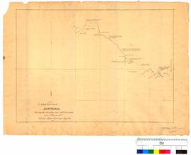 Part of South West coast of Australia showing the alterations and additions made by Lt. W. Preston by A. Hillman [Tally No. 005051].