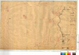 South-West corner of WA Land Co. 299 and North-West corner of Location 281 by W.H. Angove [scale: 30 chains to an inch].