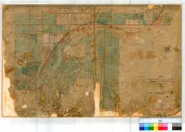 York 14. Plan of new Suburban Lots in York Townsite by F.T. Gregory. Also Lots by G.H. Roe [scale...