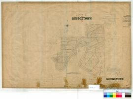 Bridgetown 26/8. Townsite of Bridgetown [new plan]. A. B. Fry [scale: 8 chains to 1 inch].