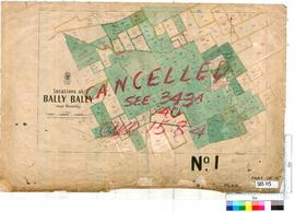 Bally Bally Locations Sheet 1 [Tally No. 503715].