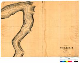 Chain survey of the Collie River by Thomas Watson, sheet 13 [Tally No. 005158].
