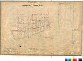 Mahogany Creek 246. Plan of Mahogany Creek Townsite showing Lots 55-103 between Craven Rd and Gil...