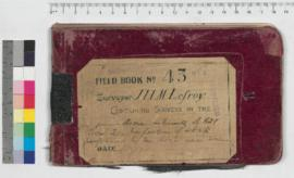 J.H.M. Lefroy Field Book No. 43