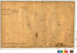 Locations along the Preston River by H.M. Ommanney, Fieldbook 13 and others. R. Austin 1855, Fiel...