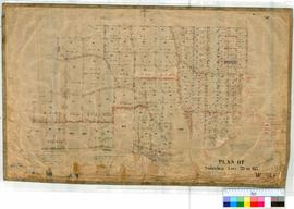 Mt Helena 165/4. Plan of Subdivision. Lots 79-183 at Mt Helena Townsite by M. Fox Fieldbook 53 da...