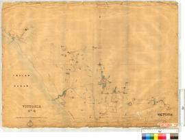 Forrest's Triangulation. Sheet 4, vicinity of Northampton, Lynton, etc, Fieldbook 9 [scale: 60 chains to an inch].