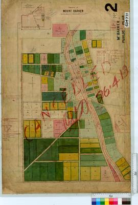 Mount Barker Sheet 2 [Tally No. 504771].