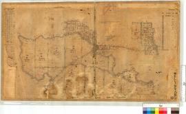 Plan showing locations for the Salvation Army (North-North-East of Collie) by N.J. Moore, Fieldbo...