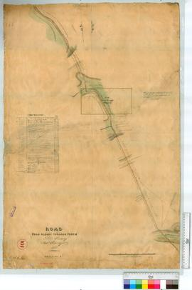 Road from Albany to Perth (crosses 11 mile bridge), sheet 2 by P. Chauncy [scale: 12 chains to an inch].