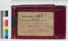 J.H.M. Lefroy Field Book No. 45
