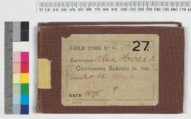 A. Forrest Field Book No 27