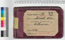 A. Forrest Field Book No 12