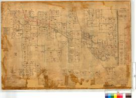 Plan west of OP 195 (Area Congelin - Narrogin) compiled N.S. Bartlett, 1899. Various surveyors [scale: 20 chains to an inch].