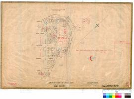 Kalgoorlie 77/22. Subdivision of Town Lots, Kalgoorlie. E. P. Muntz [scale: 2 chains to an inch].