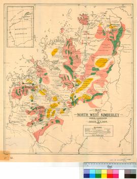 """North West Kimberley - Land classification"" from Report on North Kimberley district of..."