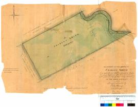 Allotment of 1150 acres to Charles Smith re 4600 acres resumed in Avon District, by surveyor P. Chauncy [Tally No. 005242].