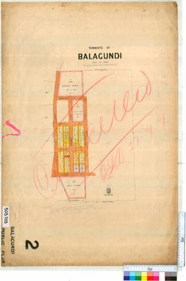 Balagundi Sheet 2 [Tally No. 503703].