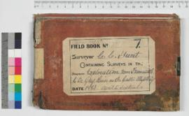 CC Hunt field Book No. 7