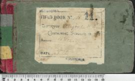 Field Book No. 11. W.H. Angove. Avon