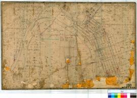 Northam 13D. Plan of Northam Townsite. Various Lots & Later additions by Alex Forrest Fieldbo...