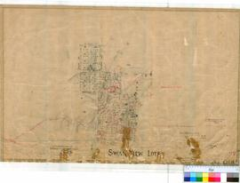 Swan View 92. Plan of Swan View showing Lots bounded by York, Tunnel and Talbot Roads and the Nat...