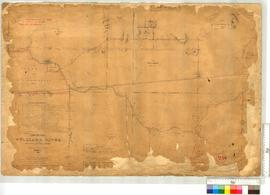 Williams River, sheet 5 Locations by A.C. Gregory, 1845, vicinity of Townsite of Williamsburgh (see Gregory's Fieldbook 1), later additions [scale: 16 chains to an inch].