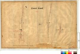 Coast Road from Location 22 northerly F3 to F27 (through location 48) by H.I. Farrell, Fieldbook ...