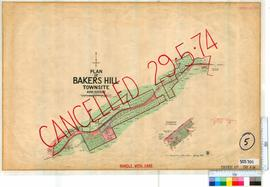 Bakers Hill Sheet 5 [Tally No. 503701].