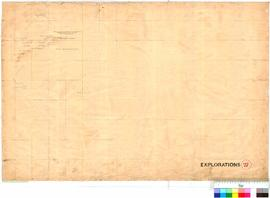 C.C. Hunt - exploration track eastwards, February-October 1864 (Eastern sheet - see also nos. 23 ...