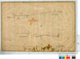 Road Survey from Bull's Creek to Fremantle by M. Terry [scale: 10 chains to an inch].