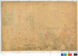 Perth 18L. Plan of New Allotments in Perth Townsite bounded by Newcastle Street, Old Road to Guildford, Walcott & Palmerston Streets, Lakes Henderson, Three Island & Mongers & surrounding Lots. By William Phelps 1858 and 1860 [scale: 6 chains to an inch, Tally No. 005762].