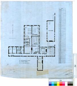 Floor plan, Central Government Buildings for Geodetic and Pastoral Lease sections.