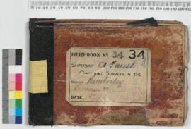 A. Forrest Field Book No 34