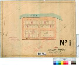 Wallaberi Sheet 1 [Tally No. 505220].