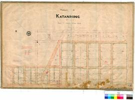 Katanning 158/1. Townsite of Katanning. Robert H. Foy, Licensed Surveyor. Some later additions no...