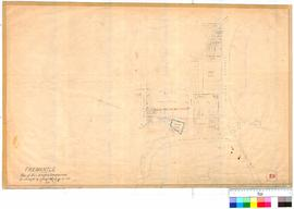 Fremantle 19I. Fremantle - plan of Police Quarters Commissariat, surveyed by Carey, November 1873...