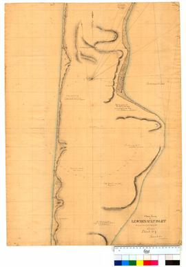 Chain survey of the Leschenault Inlet by Thomas Watson, sheet 9 [Tally No. 005168].