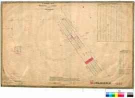 Gnowangerup 312. Plan of Gnowangerup townsite showing Lots 1 to 50. Ridley [scale: 2 chains to an...