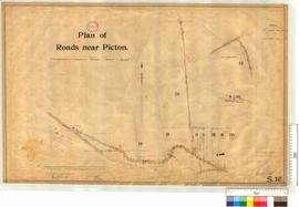 Plan of Roads near Picton through Locations 29 and 30 to Picton Junction and through location 26 ...