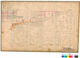 Meckering 80/1. Meckering Townsite Plan showing roads, Railway Station and yard by J. Greyer Fiel...