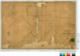 Locations, Sheet 2, vicinity of Kojonup Townsite by A.C. Gregory, Fieldbook 45, later addition by...