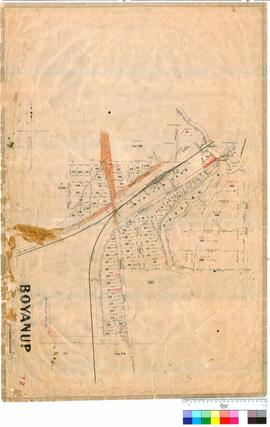 Boyanup 72. Boyanup Townsite, Lots 1-68, G. R. Turner.