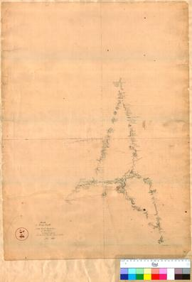 G. Smythe - plan of route to the East and North-East of Northam, June 1836.