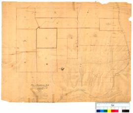 Plan of boundaries at York to be marked on the ground by T. Watson [Tally No. 005257].