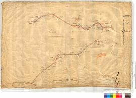 Road from Main North Road at Mooramurra to Bendoon Road by J.P. Camm, Fieldbook 19 [scale: 10 chains to an inch].
