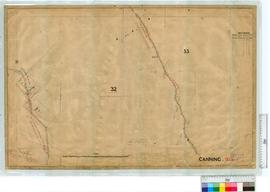 Roads by A.J. Lewis, Fieldbook 6 through Locations 88, 273, 1537 & 31, 32, 33 (area North Bra...