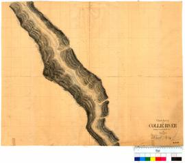 Chain survey of the Collie River by Thomas Watson, sheet 14 [Tally No. 005159].