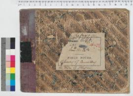 J.H.M. Lefroy Field Book No. 34